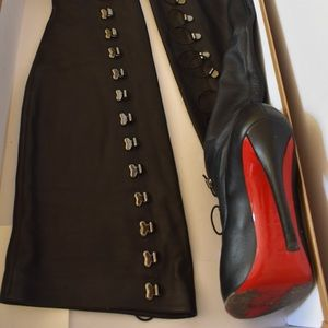 Louboutin leather boots